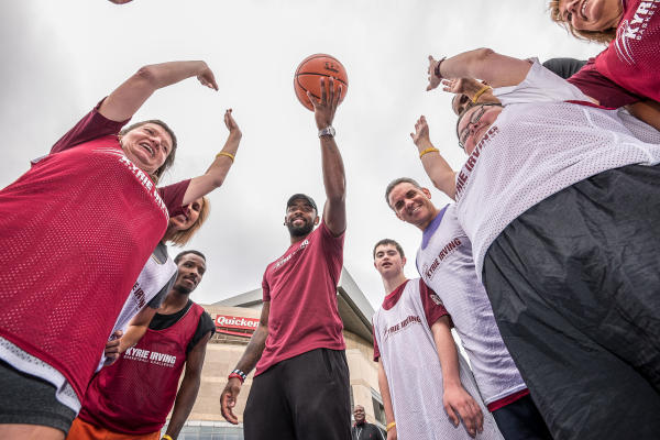 Tip-Off, Kyrie Irving Basketball Challenge, 